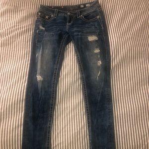 MissMe straight leg jeans
